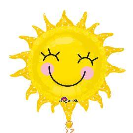 Globo helio sol feliz