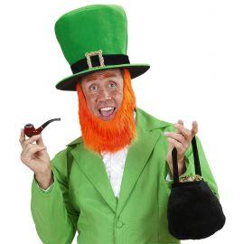 Sombrero irlandes con barba