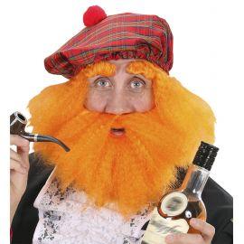 Peluca irlandes con sombrero y barba