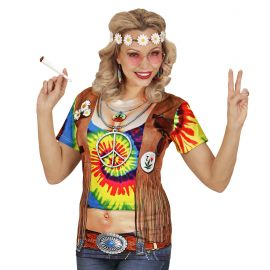 Camiseta hippie chica s/m