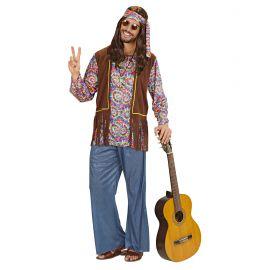 Disfraz hippie psicodelico chico