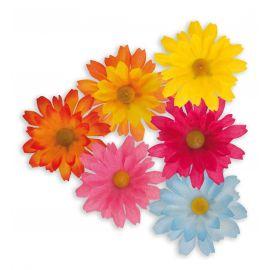 Caja 20 flores decorativas