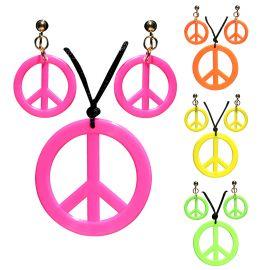 Set hippie colgante y pendientes