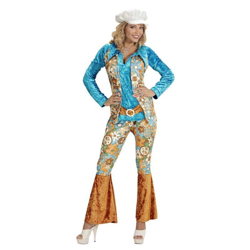 Disfraz Hippie Mujer Talla Grande