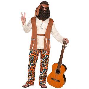 Disfraz hippie hombre multi