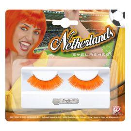 Pestañas naranjas Holanda