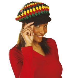 Gorro punto reggae