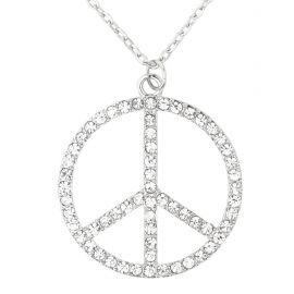 Collar hippie strass
