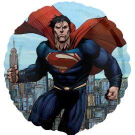 Globo helio superman redondo