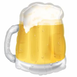 Globo helio jarra de cerveza