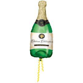 Globo helio botella champan