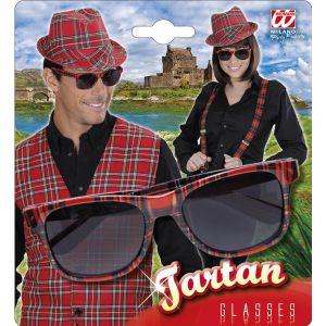 Gafas cuadro escoces