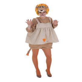 Disfraz leona vestido