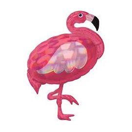 Globo helio flamenco pink
