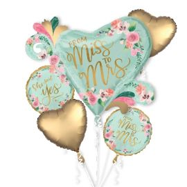 Bouquet globo helio miss to mrs