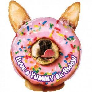 Globo helio donuts