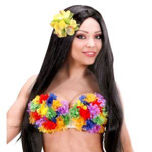Sujetador flores hawaiana