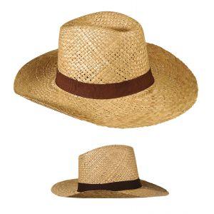 Sombrero paja safari