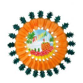 Rosa Aloha con piña 60cm