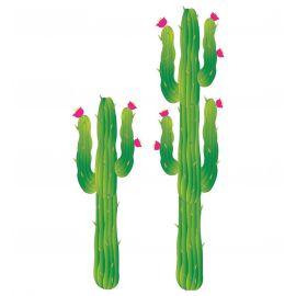 Set decoracion cactus 180 y 120