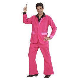 Traje party rosa hombre