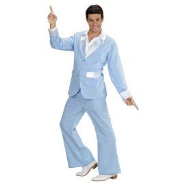 Traje party azul hombre