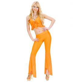 Disfraz samba de janeiro naranja