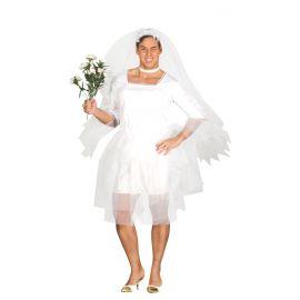 Disfraz novia hombre