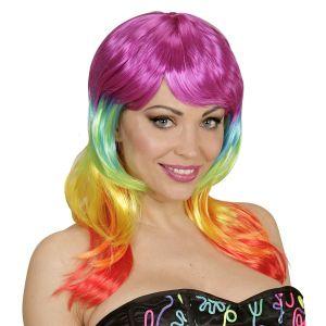 Peluca arcoiris fashion