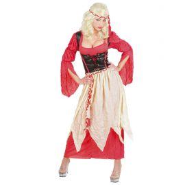 Disfraz dama medieval ad