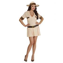 Disfraz safari mujer