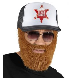 Gorra con barba