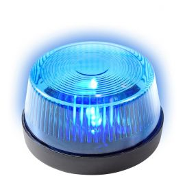 Luz de emergencia azul con sirena