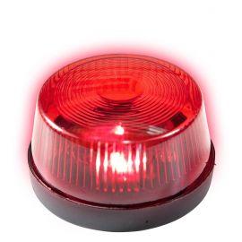 Luz de emergencia roja con sirena