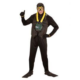 Disfraz submarinista ad