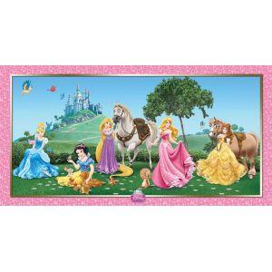 Decoracion pared princesas disney
