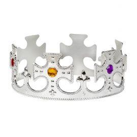 Corona rey/reina plata