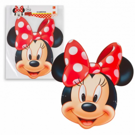 Caretas minnie 6 unidades