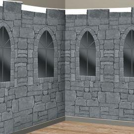 Decoración pared medieval