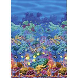 Decorado fondo arrecifes de mar 15m
