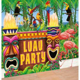 Kit photocall fiesta hawaiana