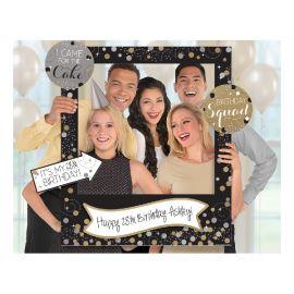 Marco selfie cumpleaños personalizarle