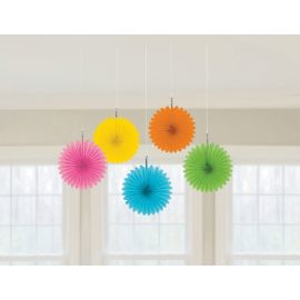 Flores colgantes multicolor pack 5 und