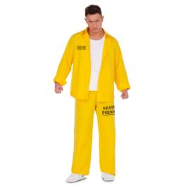 Disfraz preso amarillo bis