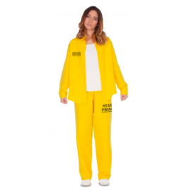 Disfraz presa amarillo bis