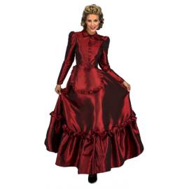 Disfraz dama escarlata del oeste