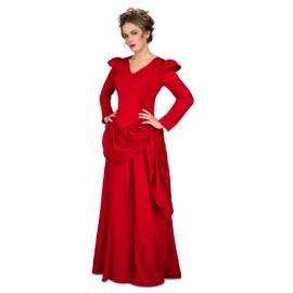 Disfraz dama roja del oeste