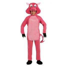 Disfraz cerdo rosa ad