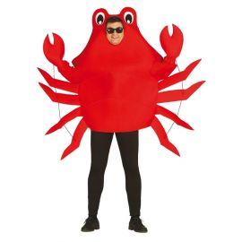 Disfraz cangrejo rojo ad
