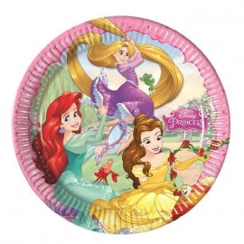 Platos princesas disney (8 unid.)